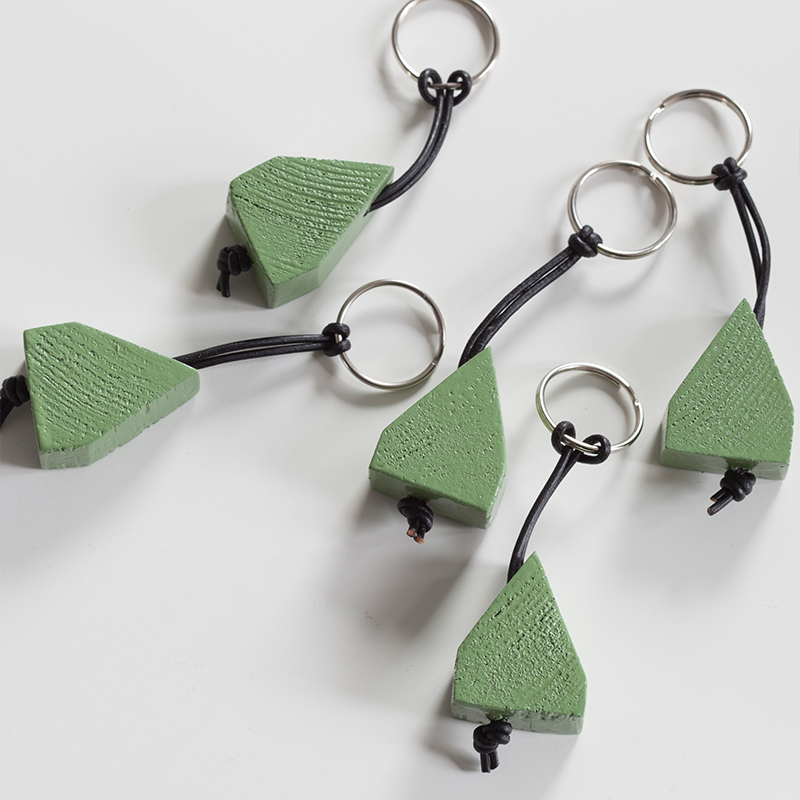 LYSEKIL - Schlüsselanhänger Grün
