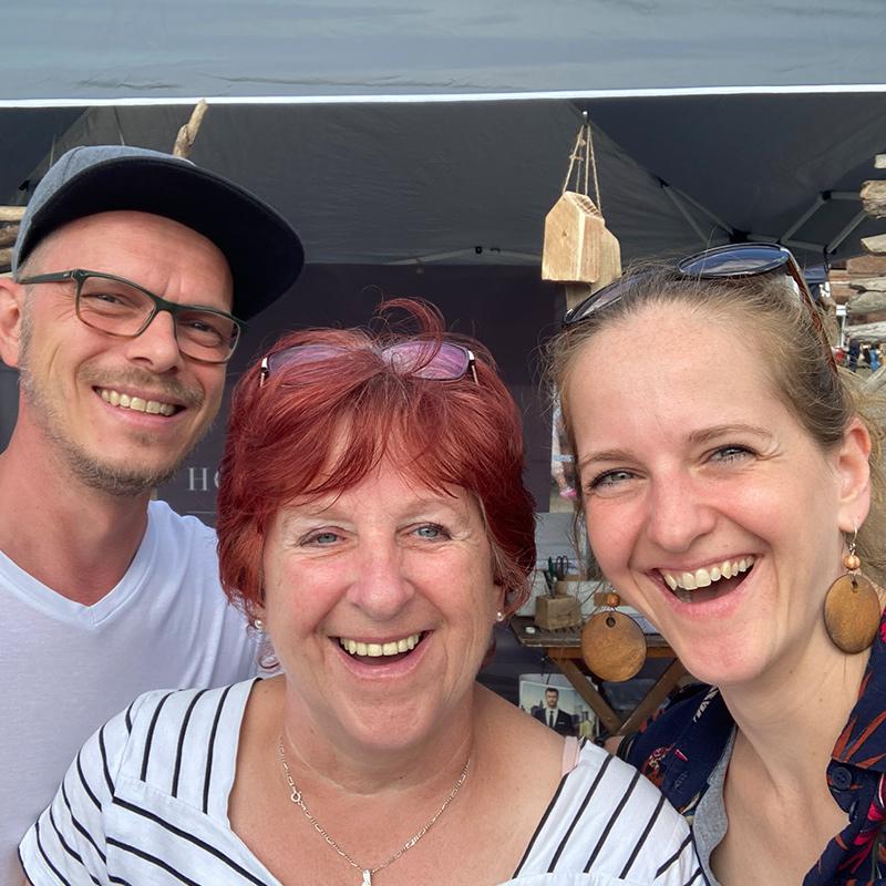 """C&C HOLZMANUFAKTUR - tatkräftige Unterstützung auf dem """"Willkommensfest"""" - Kulturfest der S5-Region in Altlandsberg"""