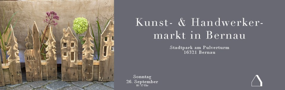 C&C HOLZMANUFAKTUR - Kunst- & Handwerkermarkt in Bernau am 26. September 2021