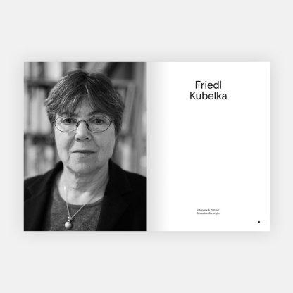 Auslöser Magazine Friedl Kubelka