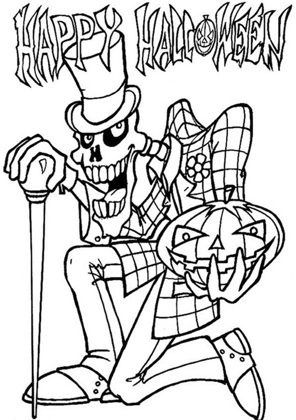Halloween 7 Ausmalbild