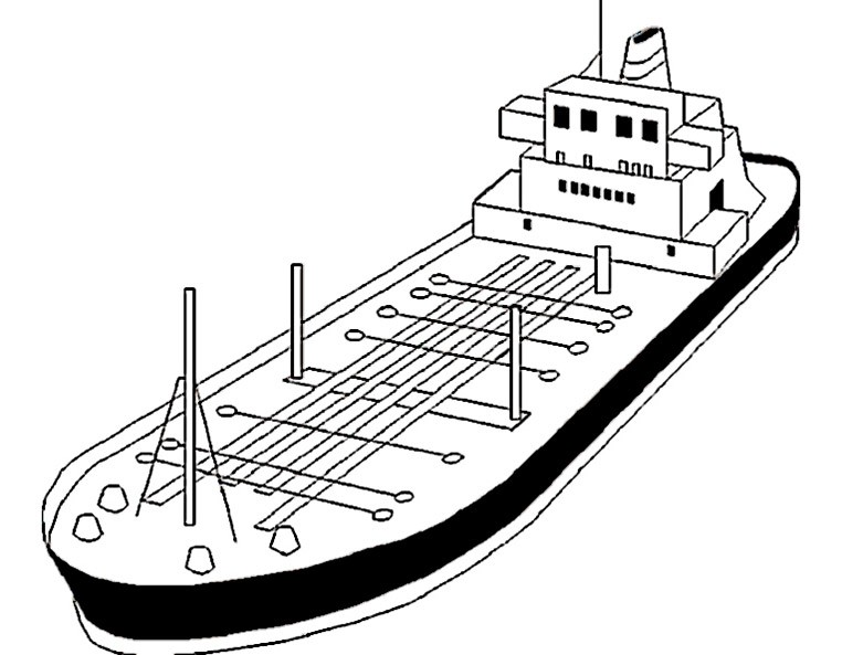 Schiffe 10 Ausmalbild