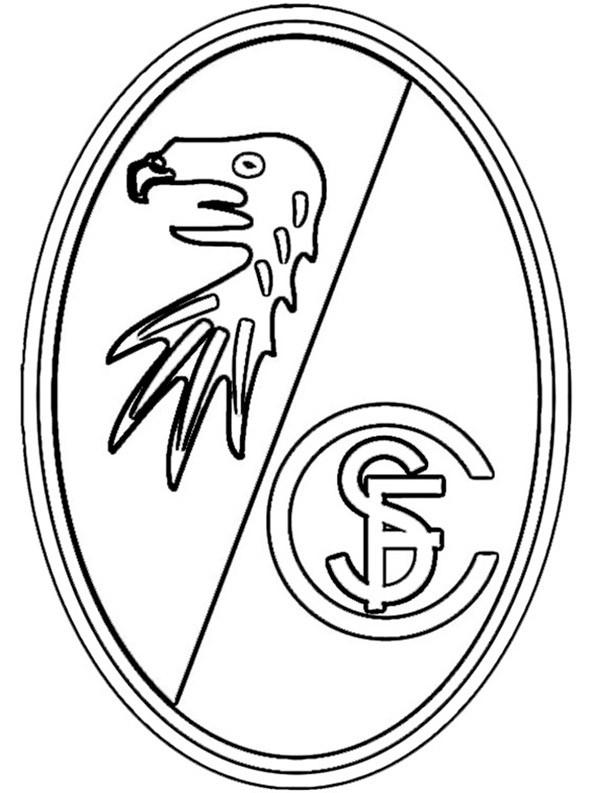 ausmalbilder logo sc freiburg ausmalbild