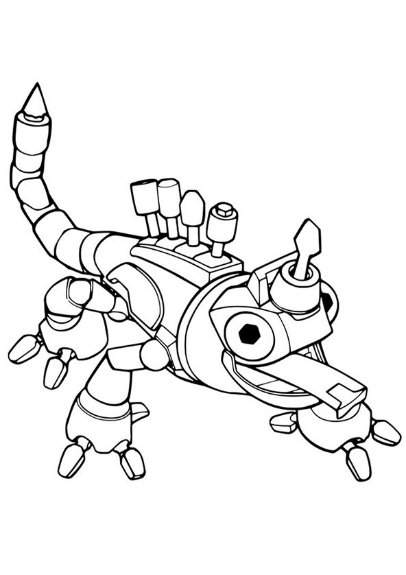 Dinotrux (7) Ausmalbild