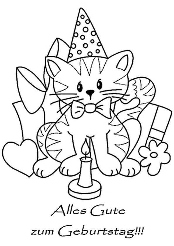 Minions Ausmalbilder Geburtstag