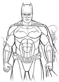Batman Ausmalbilder Kostenlos Malvorlagen Windowcolor Zum