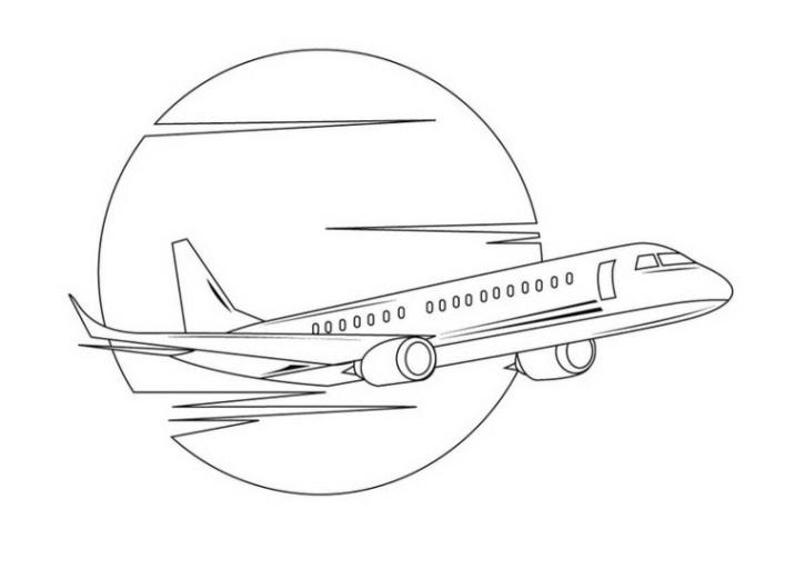 30 Malvorlage Flugzeug Kostenlos - Besten Bilder von