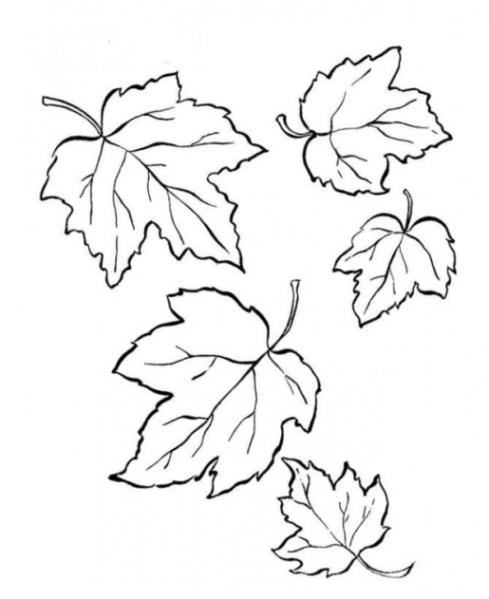 Malvorlagen zum Drucken Ausmalbild Herbst kostenlos 1