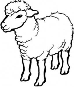 Malvorlagen zum Drucken Ausmalbild Schaf kostenlos 2