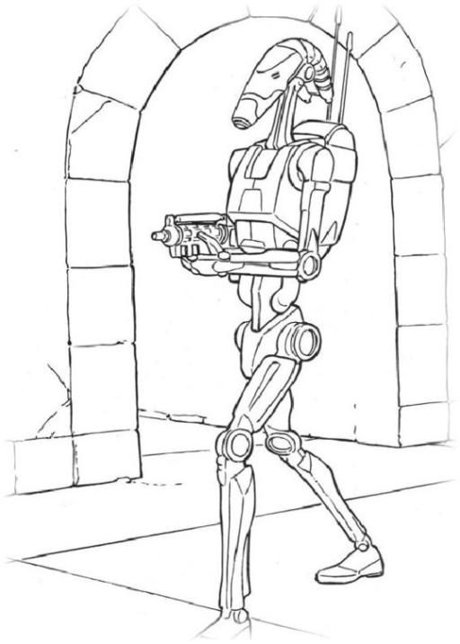 Malvorlagen zum Drucken Ausmalbild Star Wars kostenlos 2