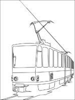 Malvorlagen zum Drucken Ausmalbild Strassenbahn kostenlos 2