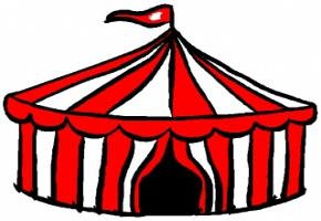 Ausmalbilder Zirkuszelt Kostenlos