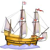 Piratenschiff Malvorlage