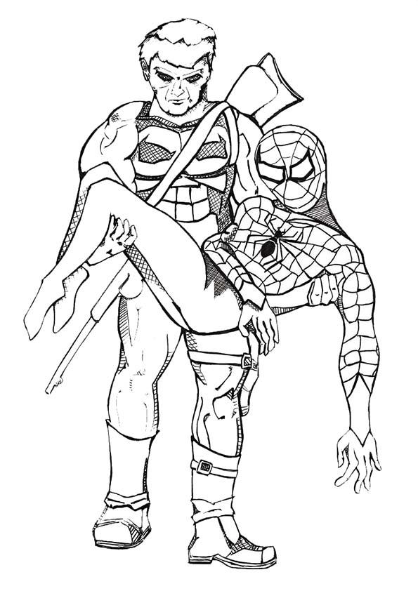27 Die Besten Spiderman Malvorlage Kinder Beste Malvorlagen