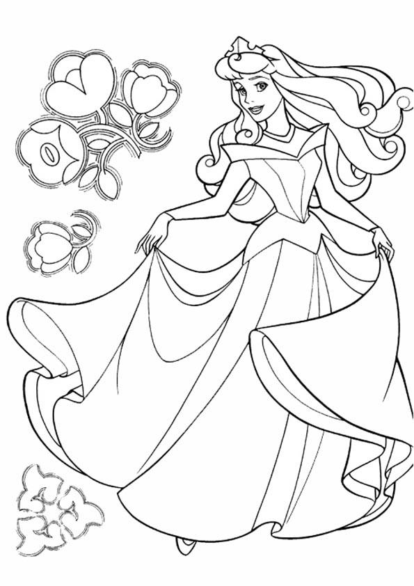 Ausmalbilder Malvorlagen Prinzessin Ausmalbilder