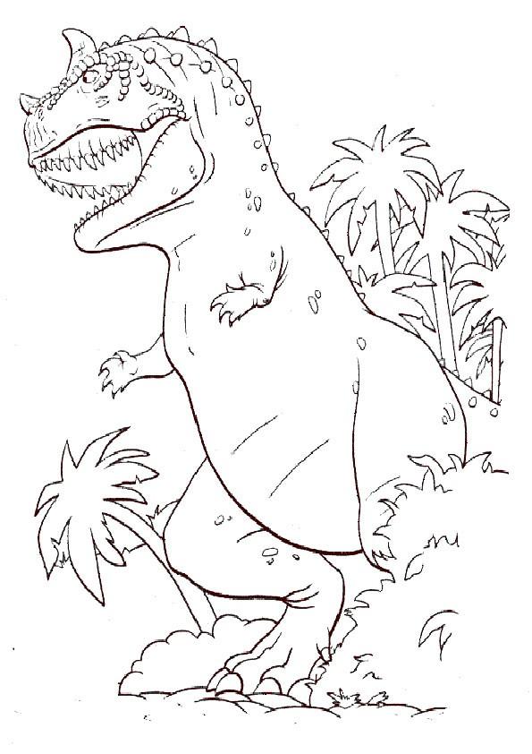 Ausmalbilder Dinosaurier 9 Ausmalbilder Malvorlagen