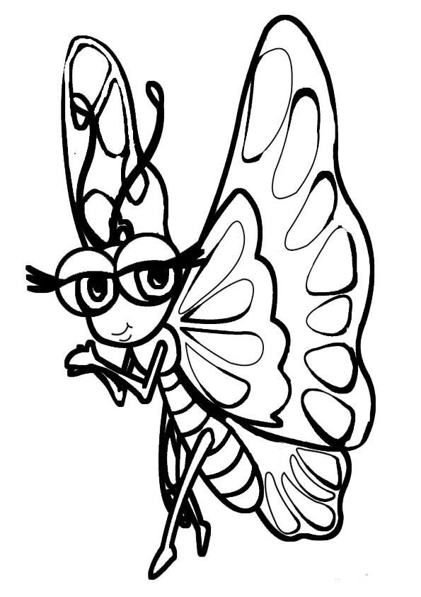 Ausmalbilder Schmetterling 3 Ausmalbilder Malvorlagen
