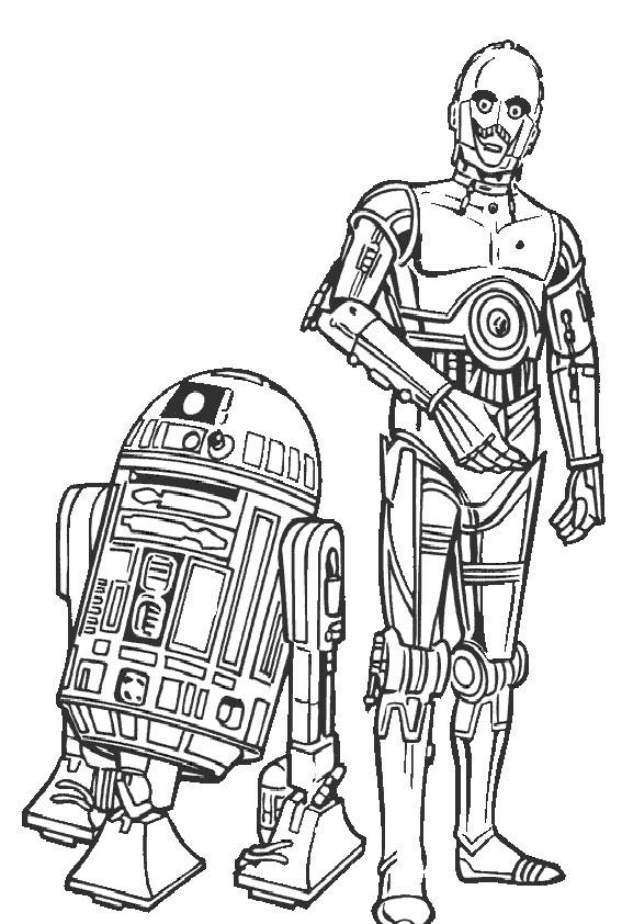 Ausmalbilder Star Wars-13 Ausmalbilder Malvorlagen