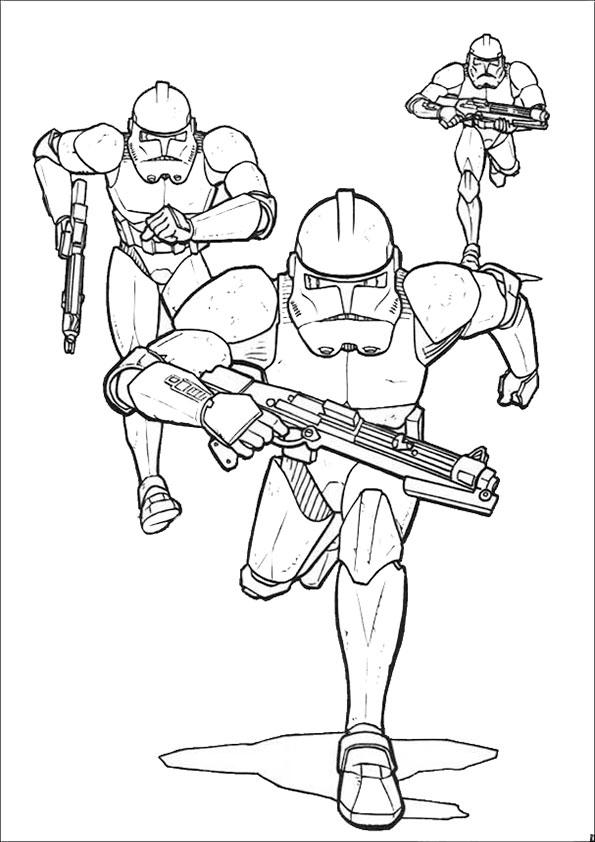 Ausmalbilder Star Wars-17 Ausmalbilder Malvorlagen
