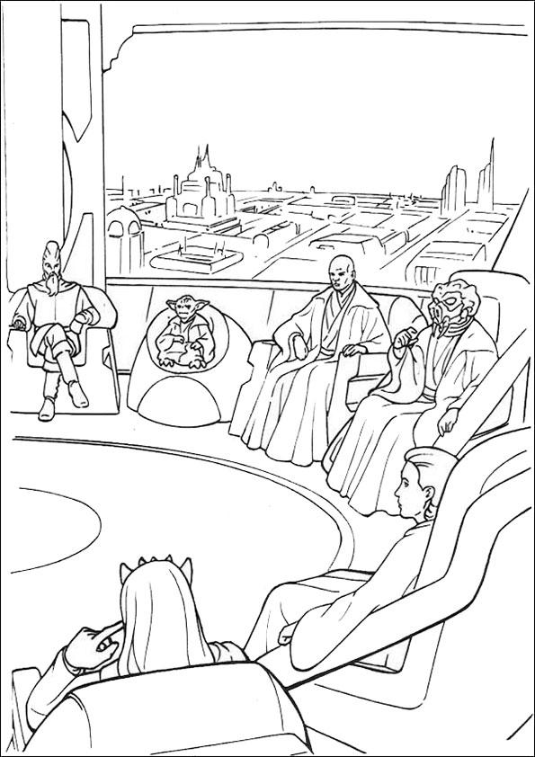 Ausmalbilder Star Wars-8 Ausmalbilder Malvorlagen