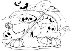 Ausmalbilder Halloween 17   Ausmalbilder Malvorlagen