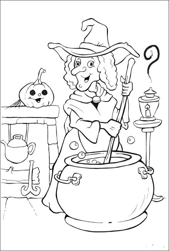 Ausmalbilder Halloween-33 Ausmalbilder Malvorlagen