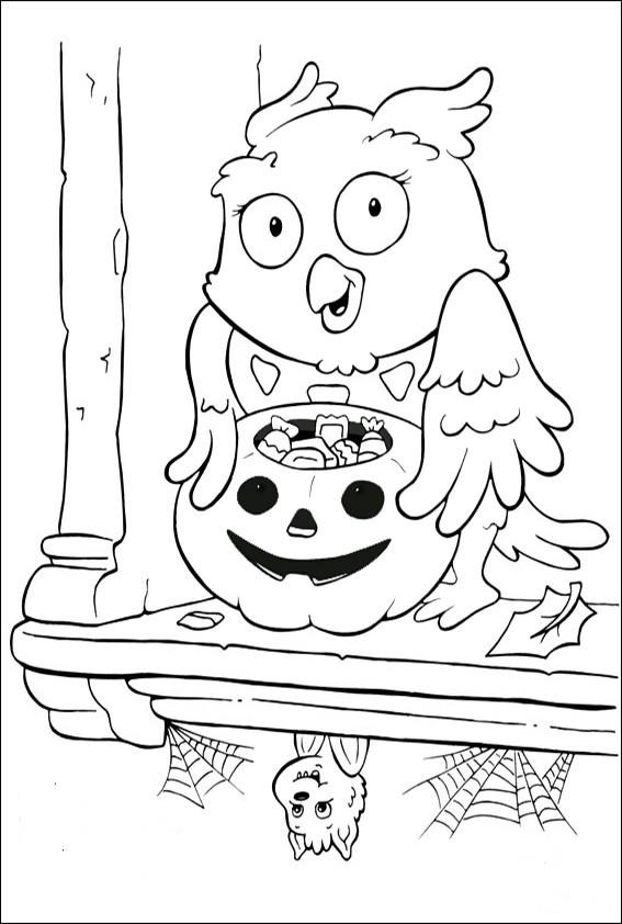 Ausmalbilder Halloween-34 Ausmalbilder Malvorlagen