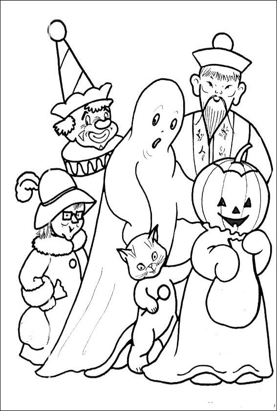 Ausmalbilder Halloween-39 Ausmalbilder Malvorlagen