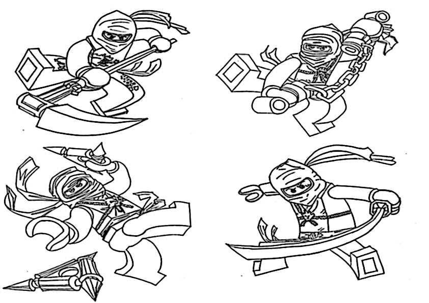 Ausmalbilder ninjago-12 Ausmalbilder Malvorlagen