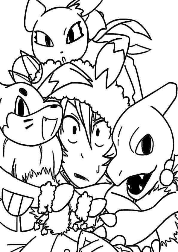 Ausmalbilder Pokemon 10 Ausmalbilder Malvorlagen