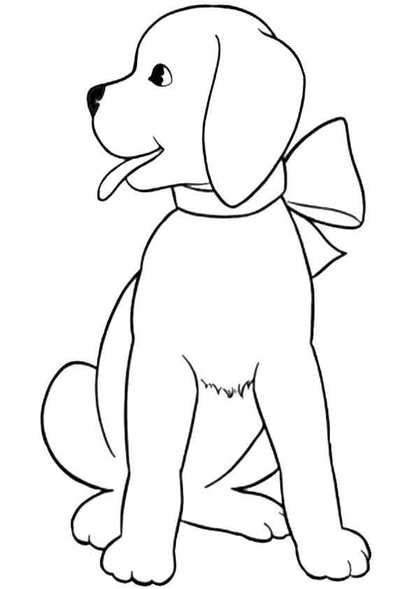 Ausmalbilder hunde-5 Ausmalbilder Malvorlagen