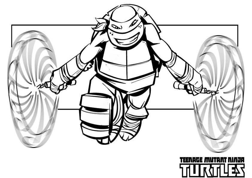 Hero turtles malvorlage Coloring and Malvorlagan