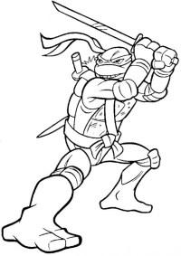 Ninja Turtles Malvorlagen Zum Ausdrucken Ausmalbilder