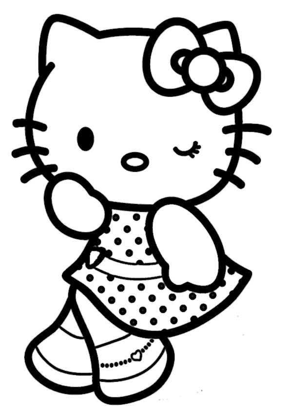 Ausmalbilder hello kitty-47 Ausmalbilder Malvorlagen