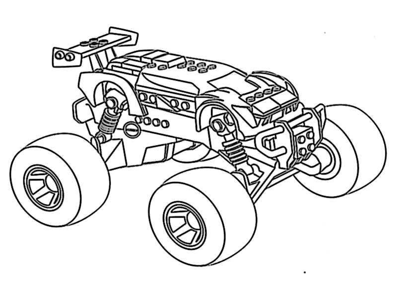 Ausmalbilder monster truck -9 Ausmalbilder Malvorlagen
