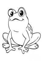 ausmalbilder frosch 5   Ausmalbilder Malvorlagen