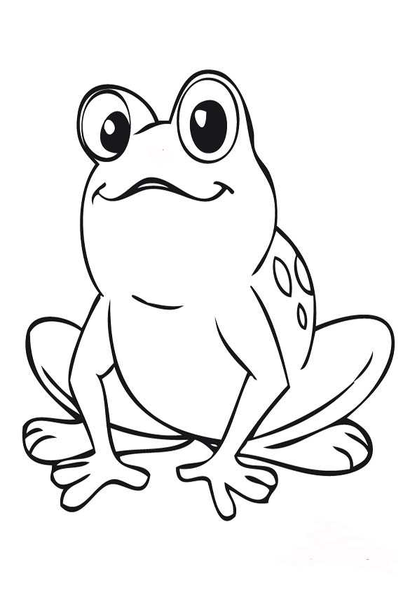 Ausmalbilder frosch-5 Ausmalbilder Malvorlagen