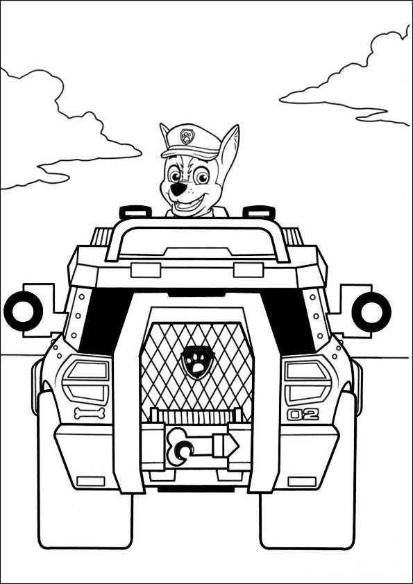 Paw-patrol-1 Ausmalbilder Malvorlagen