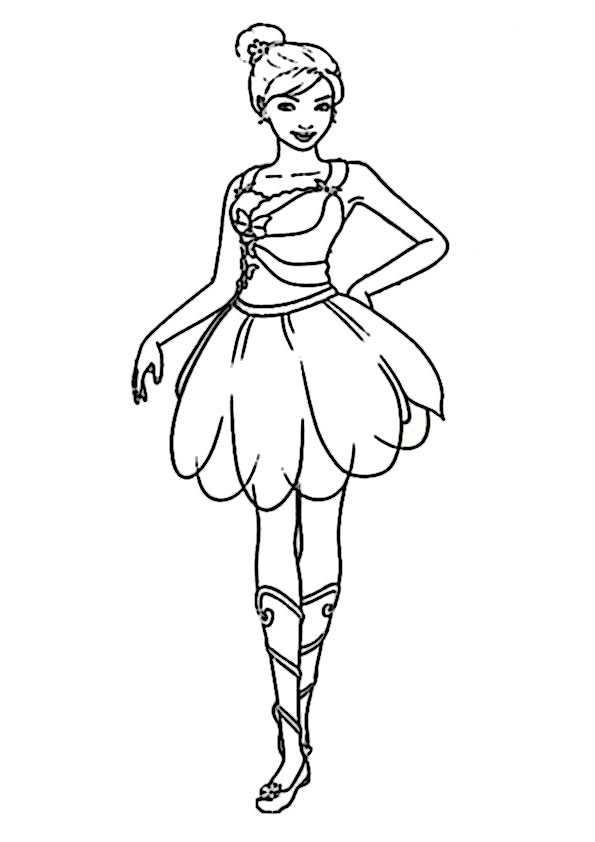 Malvorlagen Kostenlos Ballerina - Kostenlose Malvorlagen Ideen