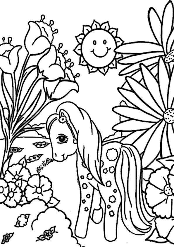 Frühling-6 Ausmalbilder Malvorlagen