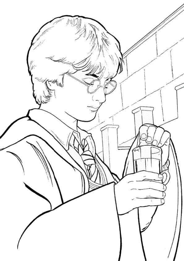 Harry potter-18 Ausmalbilder Malvorlagen
