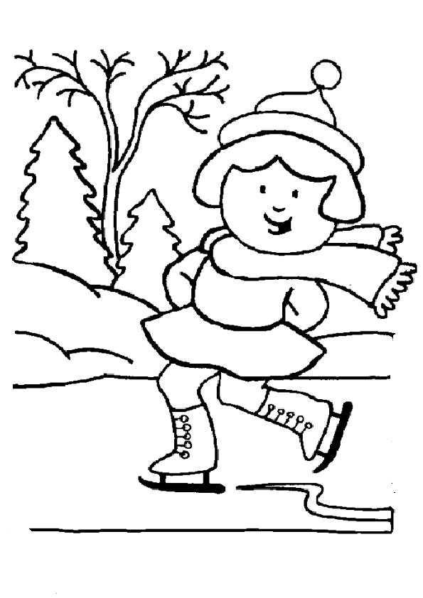 Winter-29 Ausmalbilder Malvorlagen