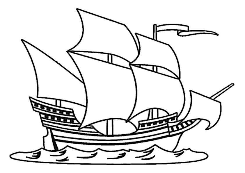 Schiffe-13 Ausmalbilder Malvorlagen