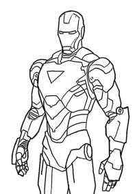 √ ausmalbilder ironman ausdrucken | ironman