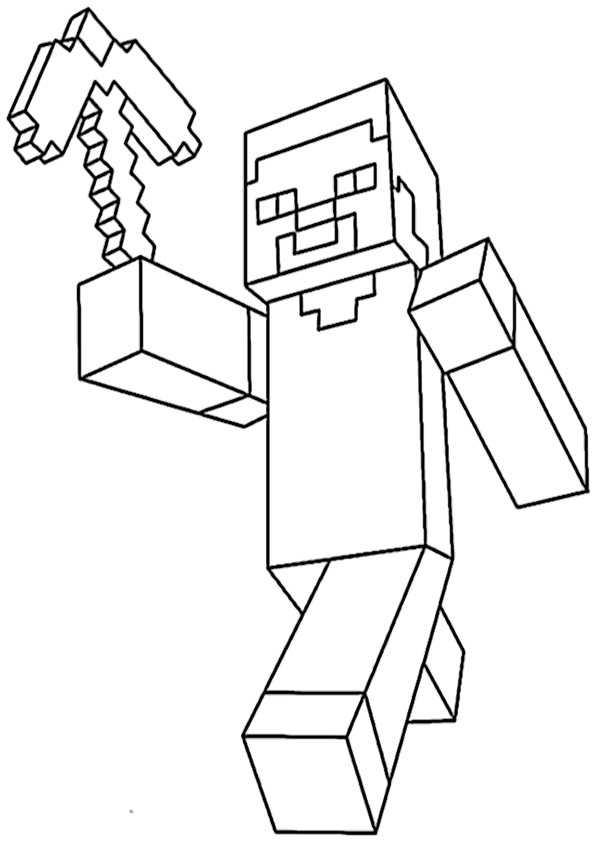 Minecraft 12 Ausmalbilder Malvorlagen