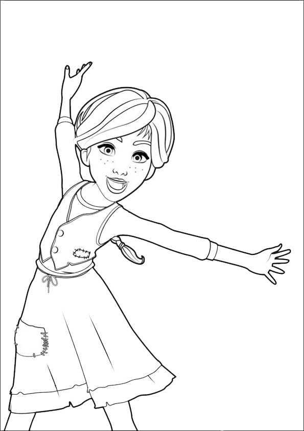 ballerina5  Ausmalbilder Malvorlagen