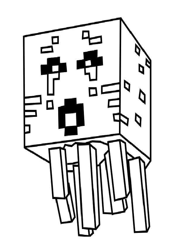 Minecraft-6 Ausmalbilder Malvorlagen