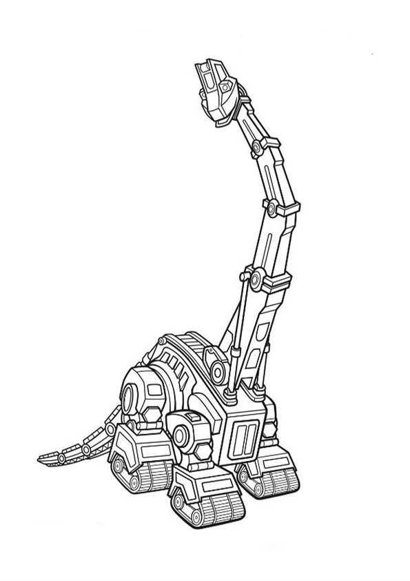 Dinotrux-2 Ausmalbilder Malvorlagen