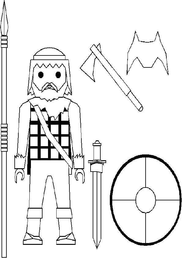 Playmobil-7 Ausmalbilder Malvorlagen