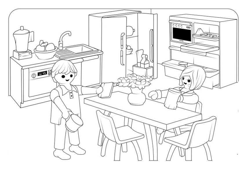 Playmobil-5 Ausmalbilder Malvorlagen